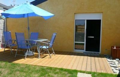 Maison de la plage (avec piscine-sauna)